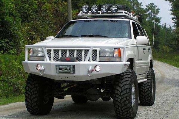 Trailready 174 Jeep Grand Cherokee 1993 Full Width Black