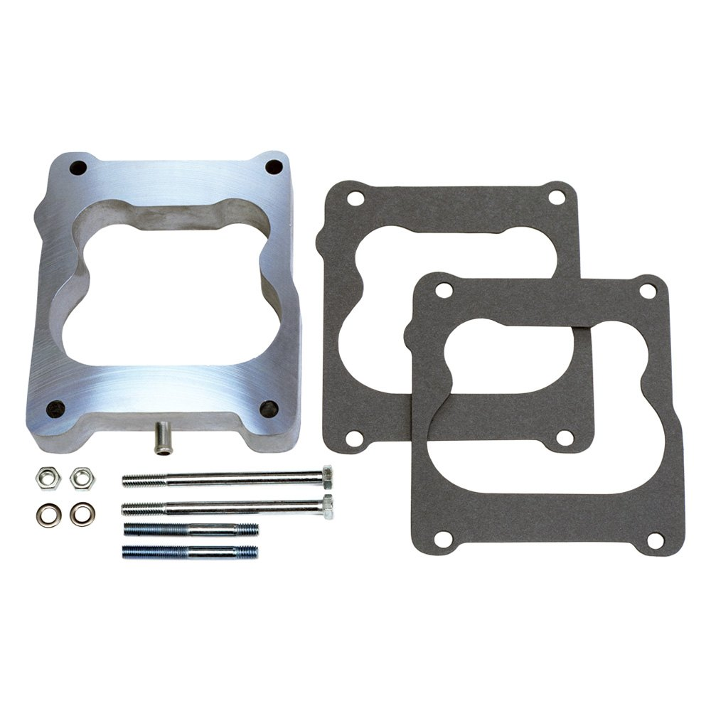 NEW Holley 2 BBL to Rochester 2 BBL Intake Aluminum Carb Carburetor Adapter 2086