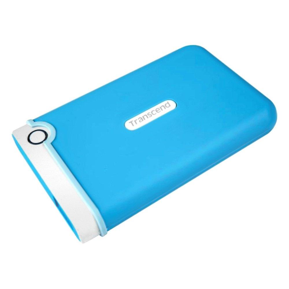 transcend ts1tsj25m3b   1tb storejet2 5 m3 lt blue portable