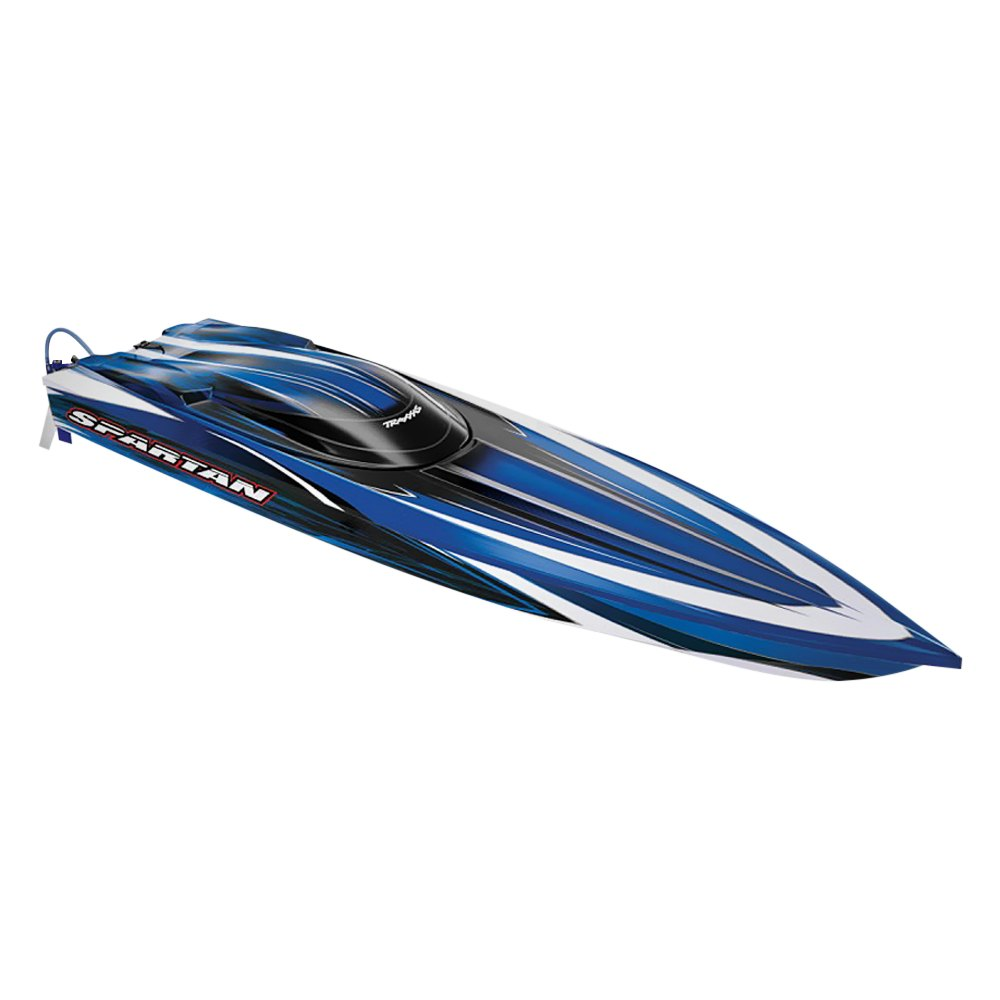 Traxxas® - Electric Sparttan Brushless Race Boat 50+mph with Battery ...