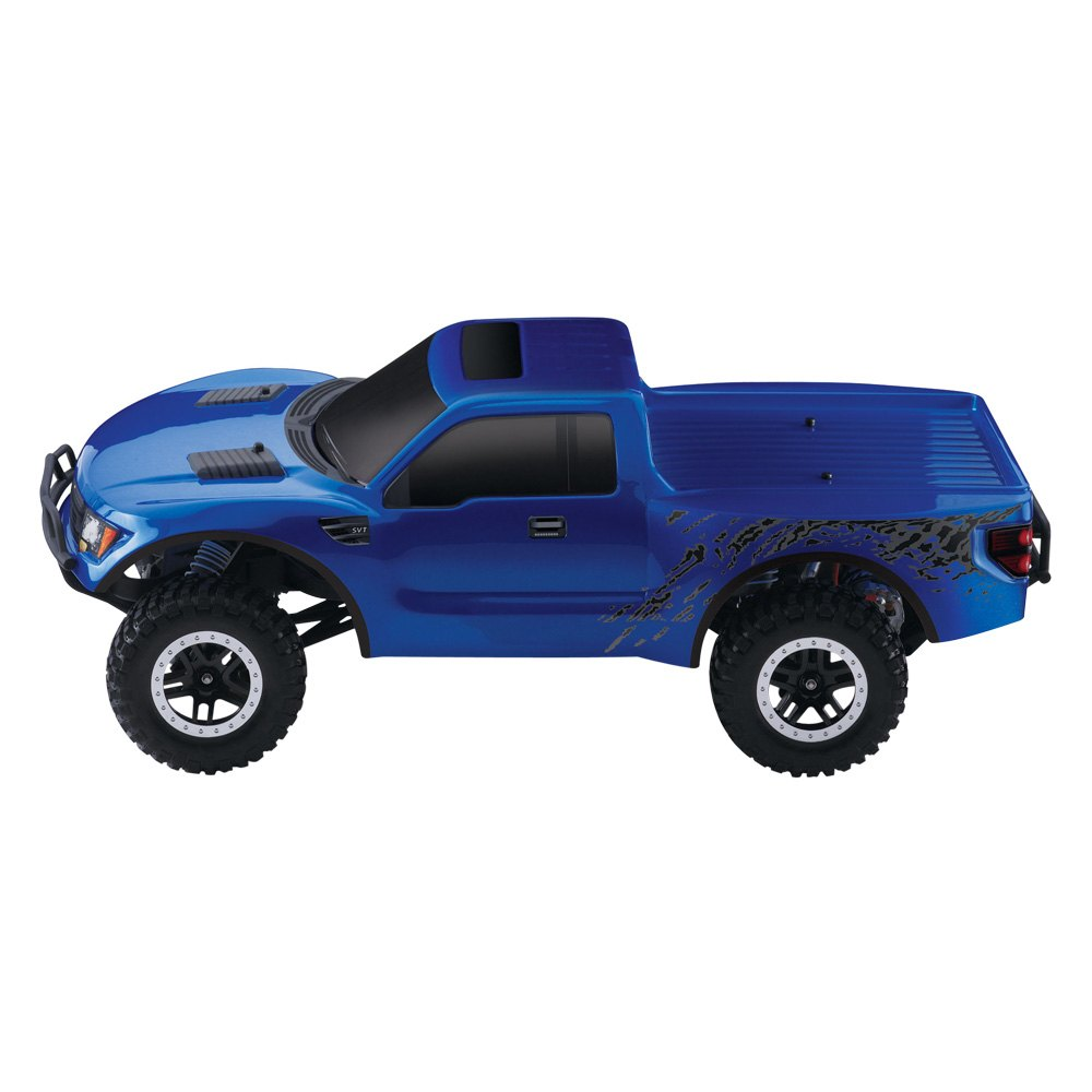 ... Blue Electric Ford Raptor F-150 1/10 Scale 2WD Replica Model SVT Styling and On-Board Audio ...  sc 1 st  CARiD.com & Traxxas® - Electric Ford Raptor F-150 1/10 Scale 2WD Replica Model ... markmcfarlin.com