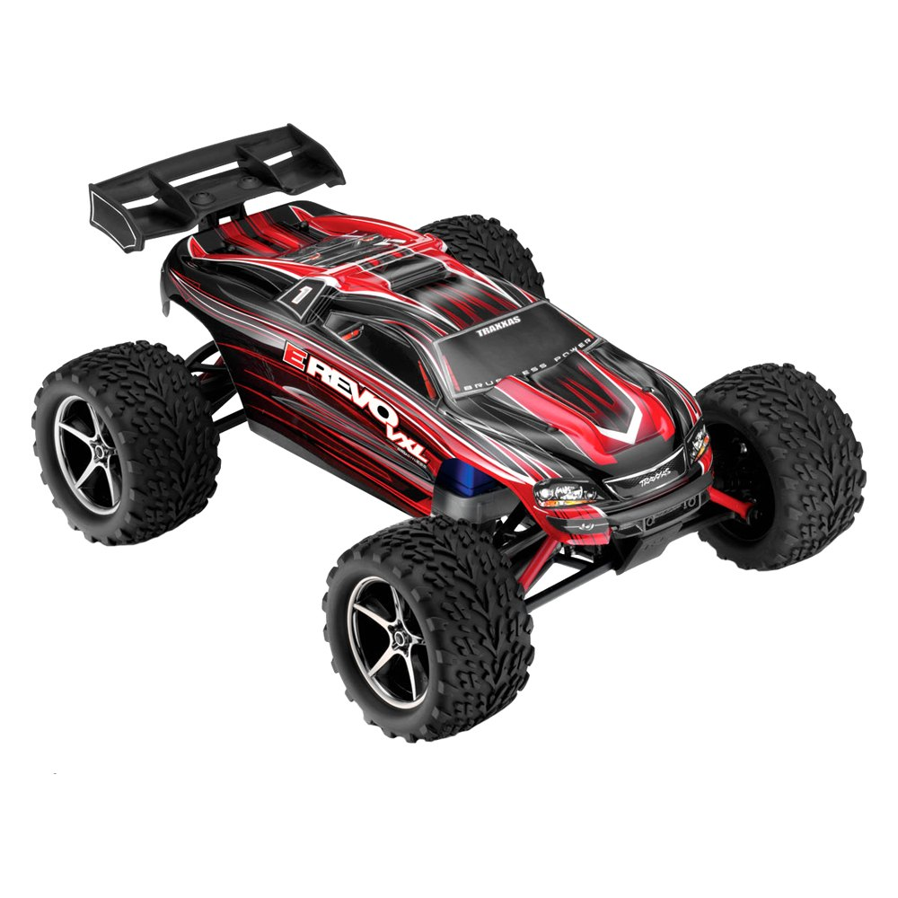 traxxas electric e revo vxl 1 16 scale 4wd brushless monster truck 50 mph. Black Bedroom Furniture Sets. Home Design Ideas