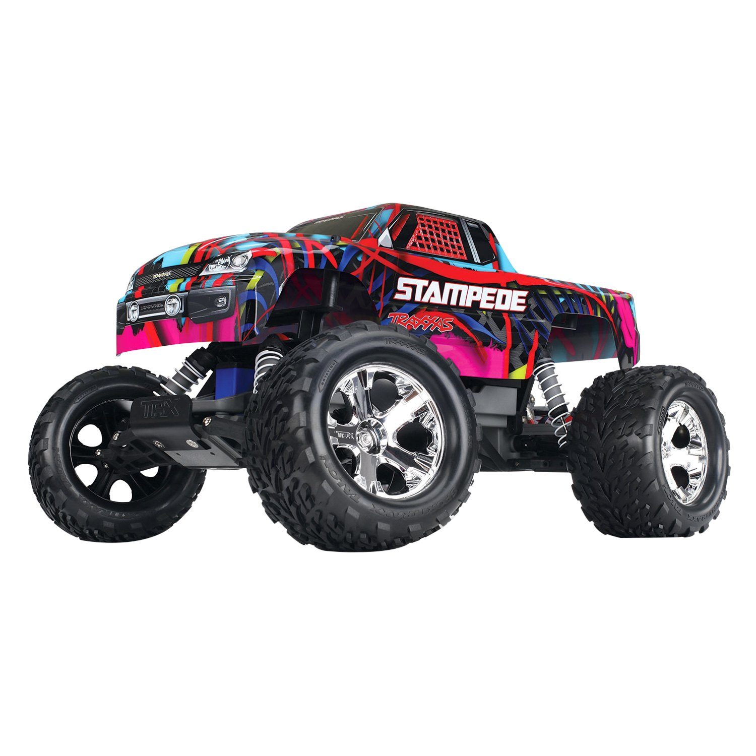Traxxas Stampede Series 1 10 Scale Hawaiian 2WD Electric Monster Truck