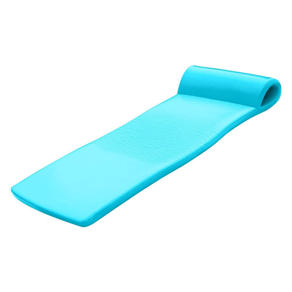 Trc recreation 8020031 sunsation pool float tropical teal for Pool floats design raises questions
