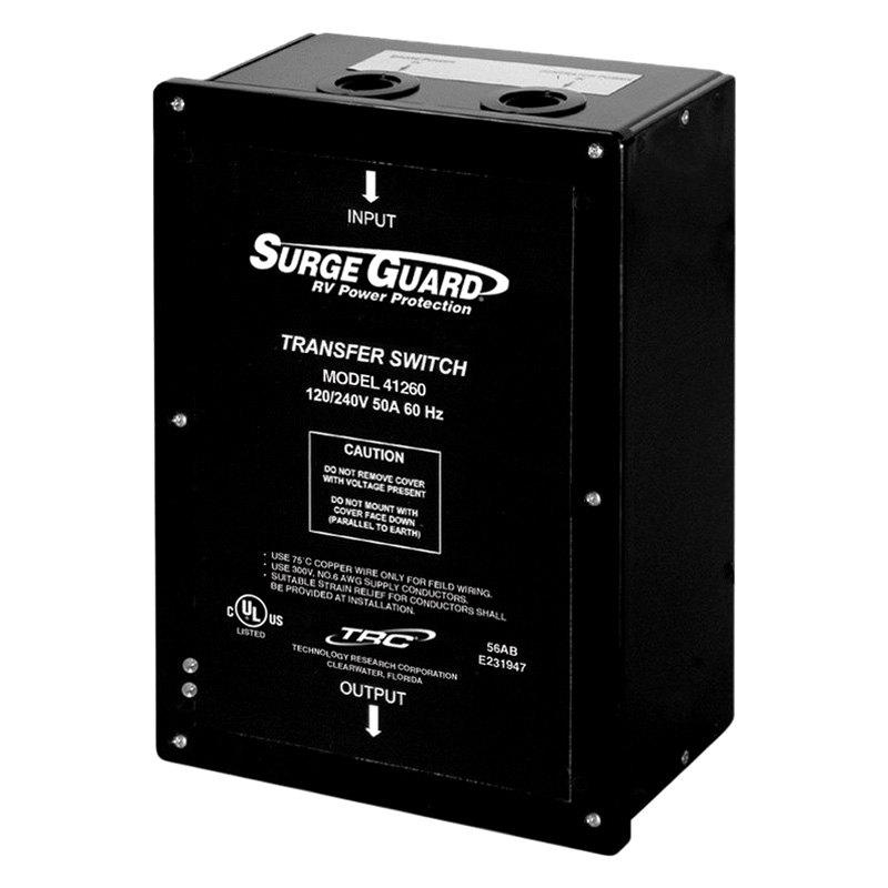 Ztx20mx60 Ge Zenith Automatic Transfer Switch: 50 Amp Hardwire Automatic Transfer Switch