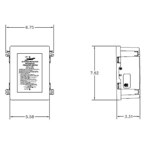 trc u00ae 41300 - 30 amp hardwire basic automatic transfer switch
