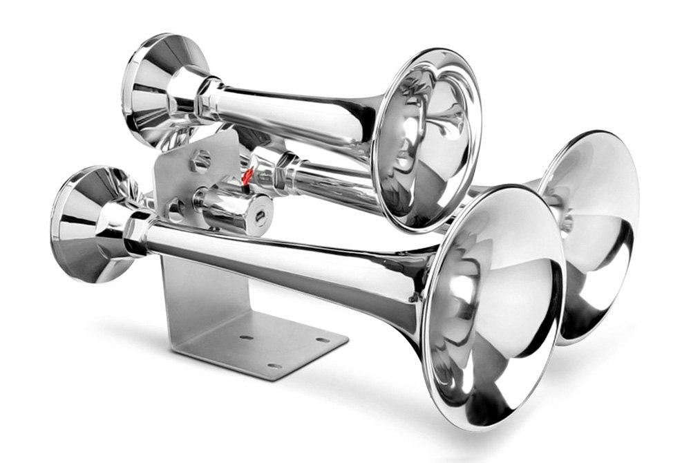 The Roach Coach 5 Trumpet La Cucaracha Air Horn Kit with Compressor  TRGH165