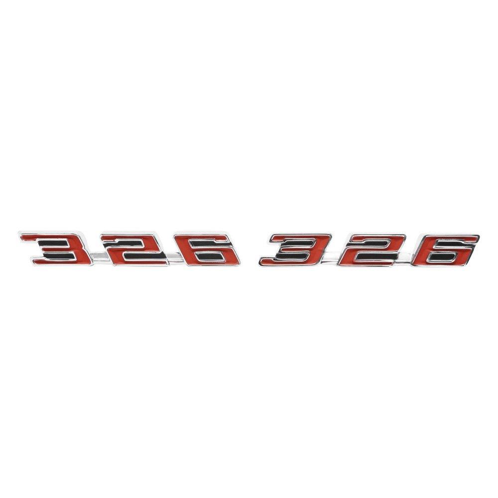 Trim Parts® - Pontiac Firebird 1967 Hood Emblems