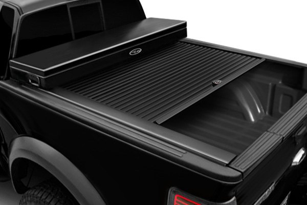 Tool Box Covers >> Truck Covers Usa Crt200 American Work Tool Box Hard Retractable Manual Tonneau Cover