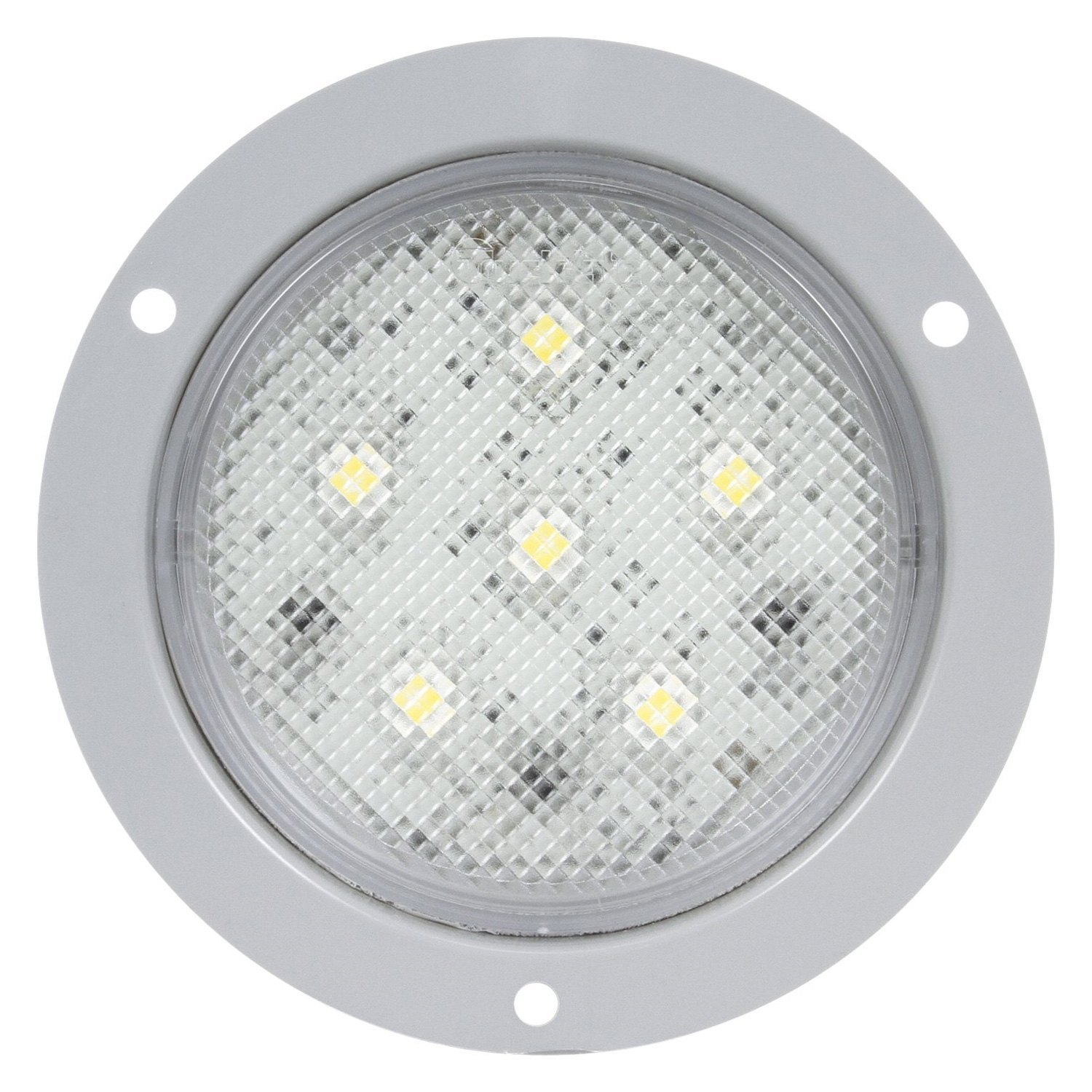 truck lite 44339c super 44 white led dome light ebay. Black Bedroom Furniture Sets. Home Design Ideas