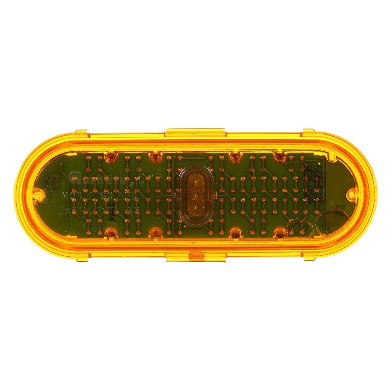 truck lite u00ae 60362y super 60 bolt on mount yellow led