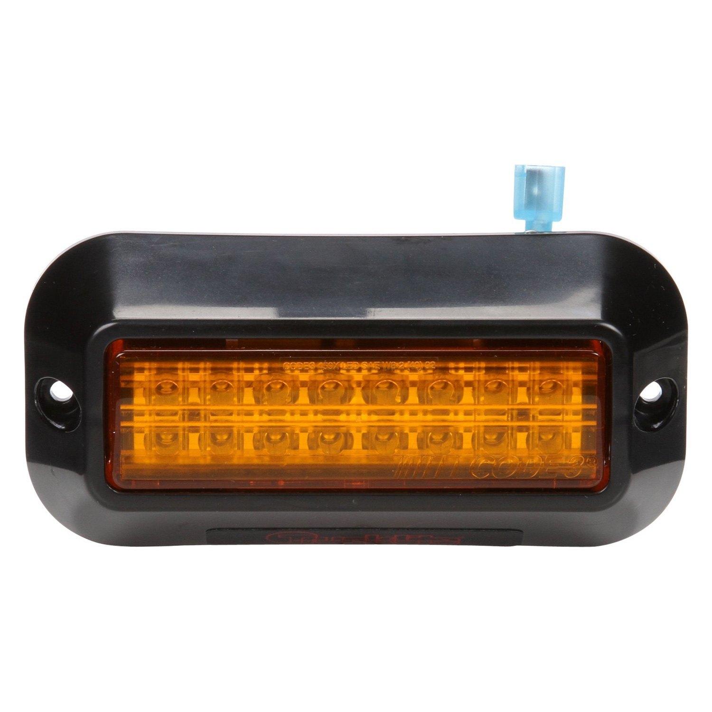 Led Strobe Lights For Trucks >> Truck Lite 92696y Bolt On Mount Yellow Led Strobe Light