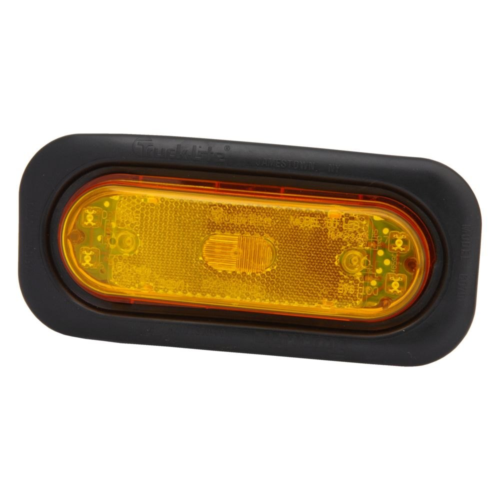 truck lite 60180y model 60 yellow led rear side lamp. Black Bedroom Furniture Sets. Home Design Ideas
