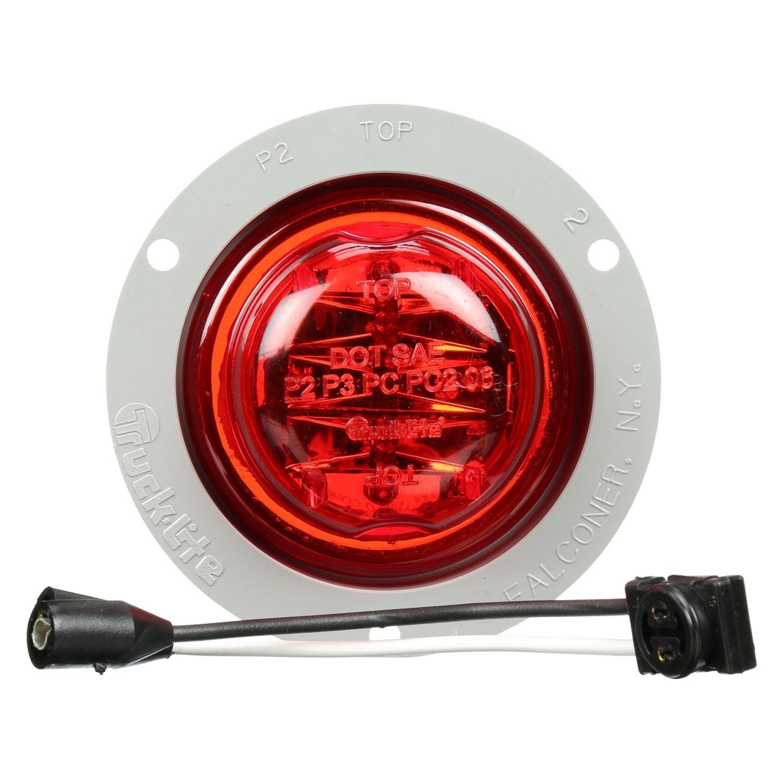 Truck Lite 174 10090r 10 Series Round Marker Clearance