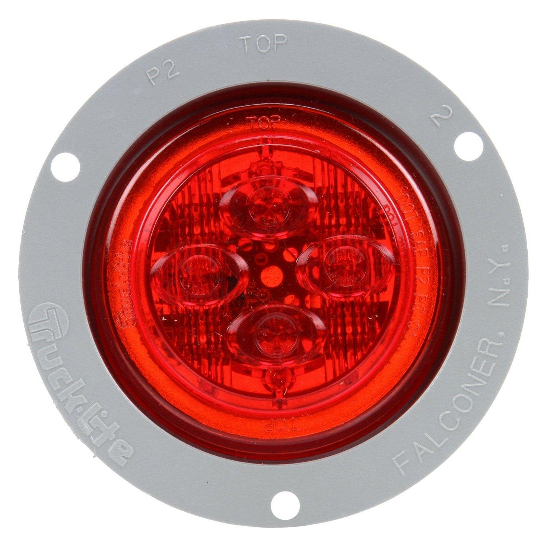 Truck Lite 174 10389r 10 Series Round Low Profile Marker