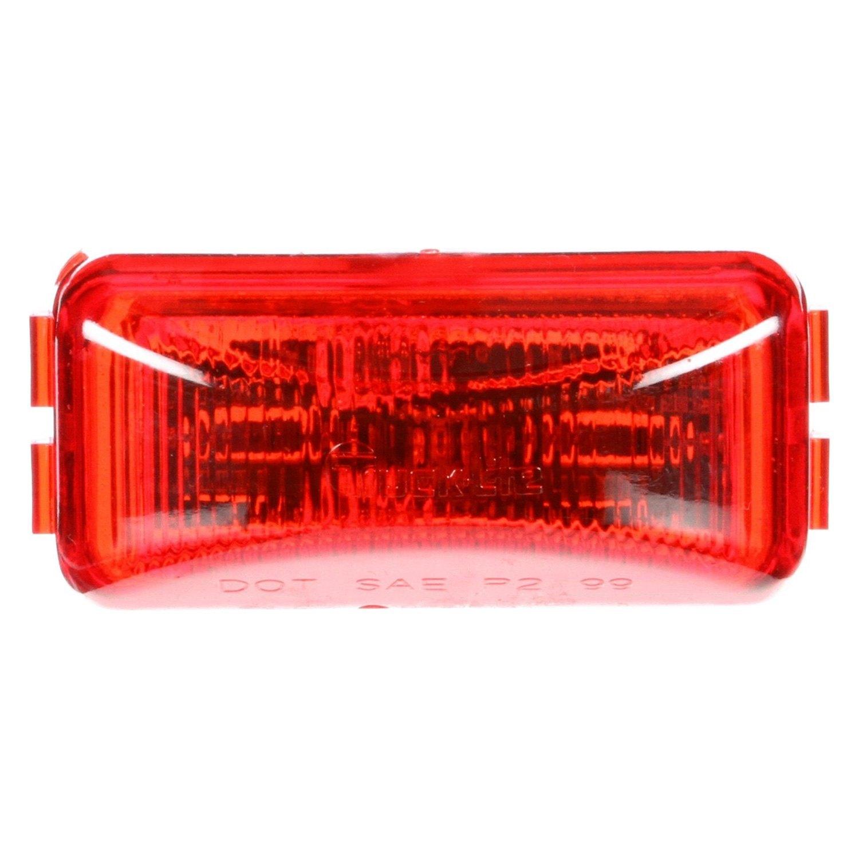 Red Truck Lamp : Truck lite series led marker clearance light