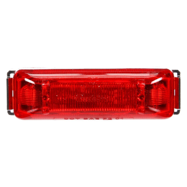 Red Truck Lamp : Truck lite r series red rectangular led