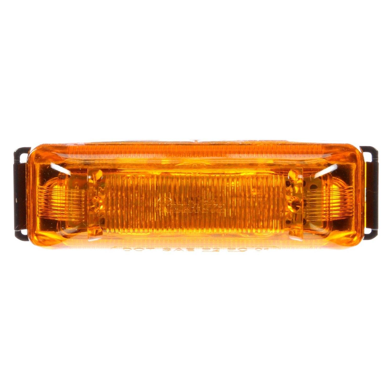 Motorcycle Led Kit >> Truck-Lite® 19037Y - 19 Series Rectangular Marker Clearance Light Kit, 6 LED