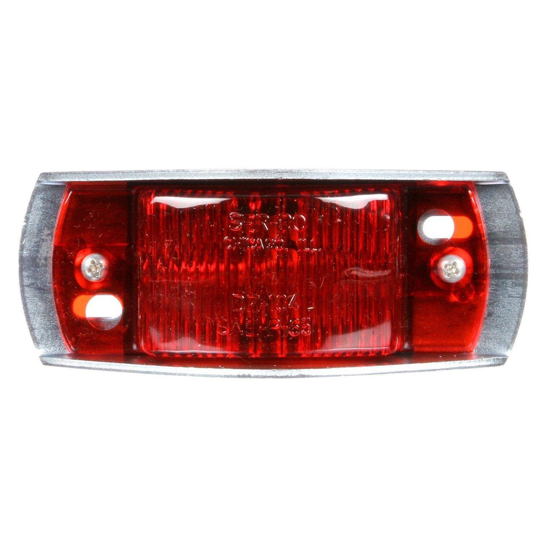 Red Truck Lamp : Truck lite r series red rectangular marker