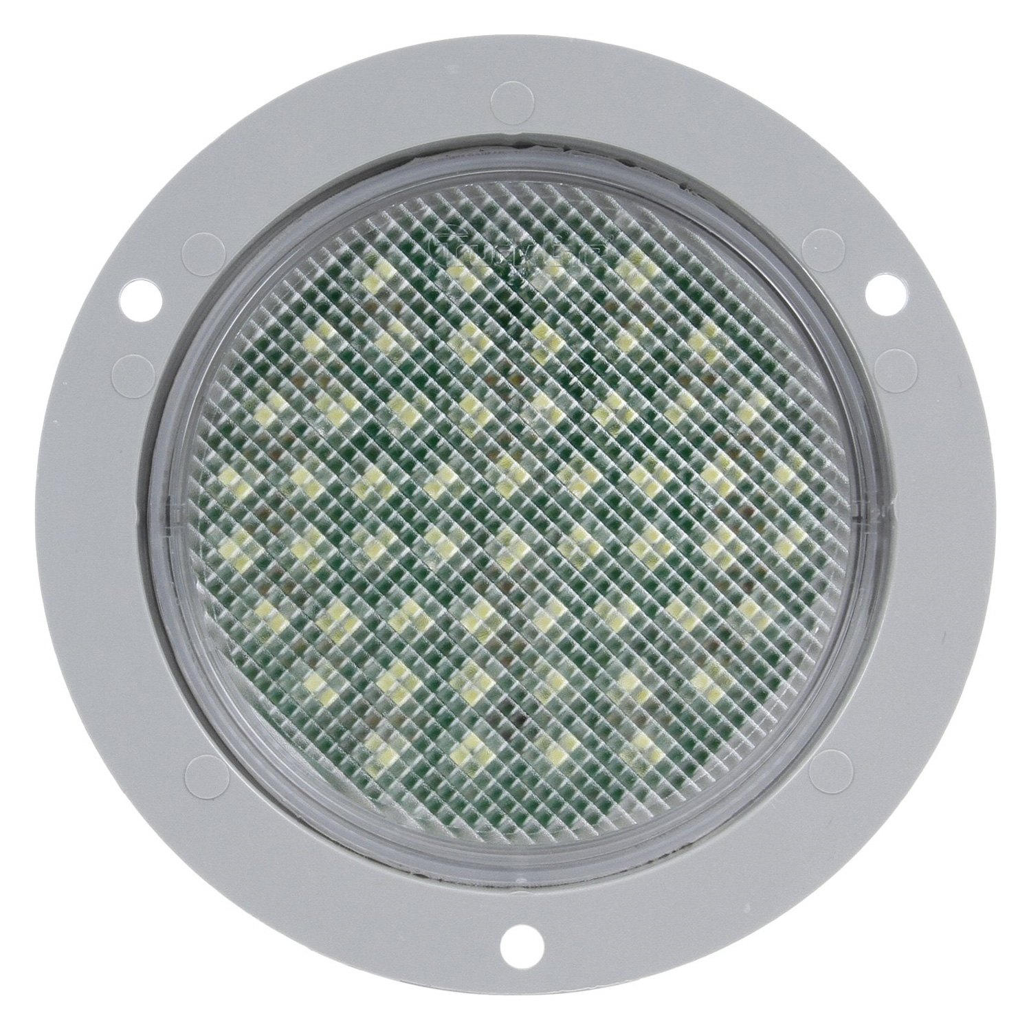 Truck Lite 44046c 44 Series Clear Round 54 Led Dome Light Kit