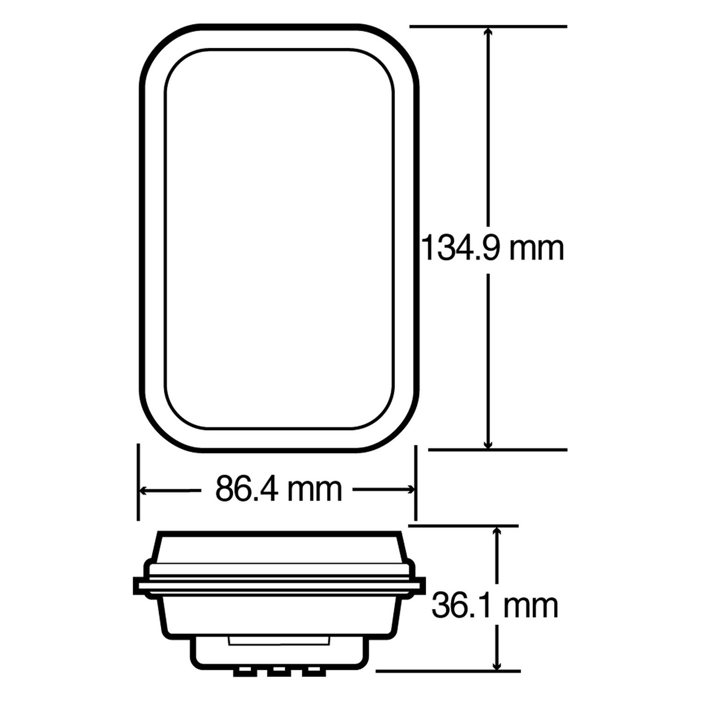 truck lite 45 wiring diagram schema wiring diagram online truck lite® 45042r 45 series red rectangular european approvedstop diamond snow plow wiring diagram 19