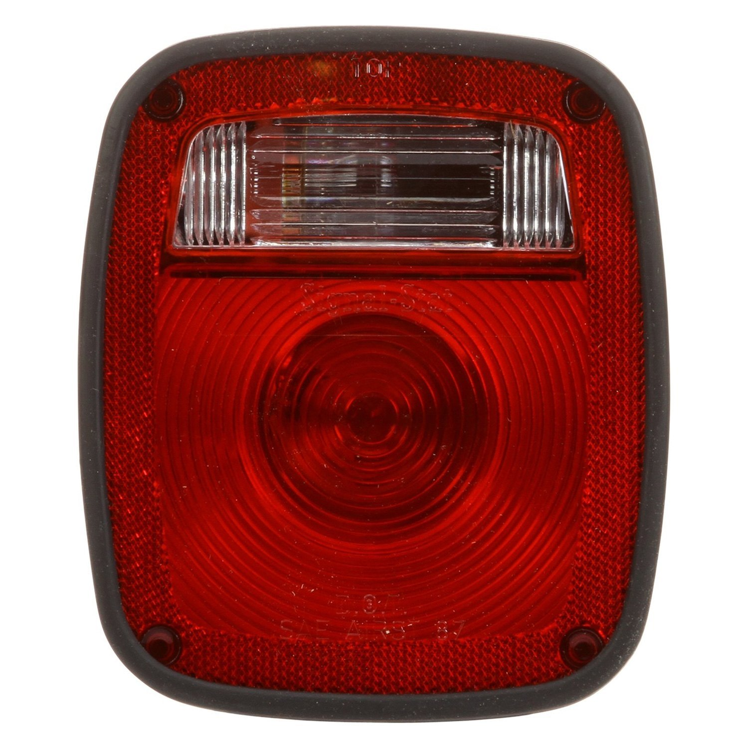 truck-lite� - red/clear signal-stat right hand combo box light