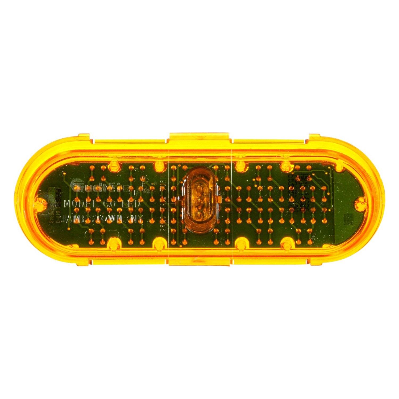 lite 60122y super 60 class ii yellow oval 36 led strobe light kit. Black Bedroom Furniture Sets. Home Design Ideas