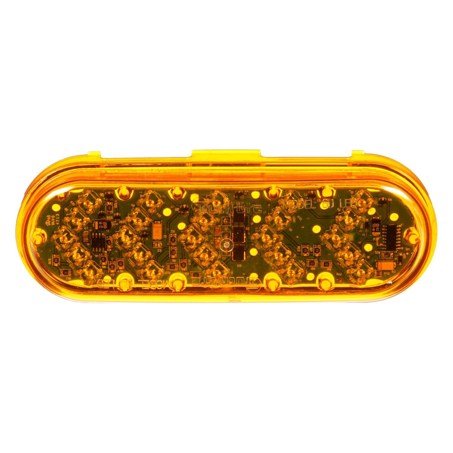 Truck-Lite® - 60 Series Yellow Oval Sequential Arrow Auxiliary Turn Signal Light  sc 1 st  CARiD.com & Truck-Lite® 60280Y - 60 Series Yellow Oval Sequential Arrow ... azcodes.com