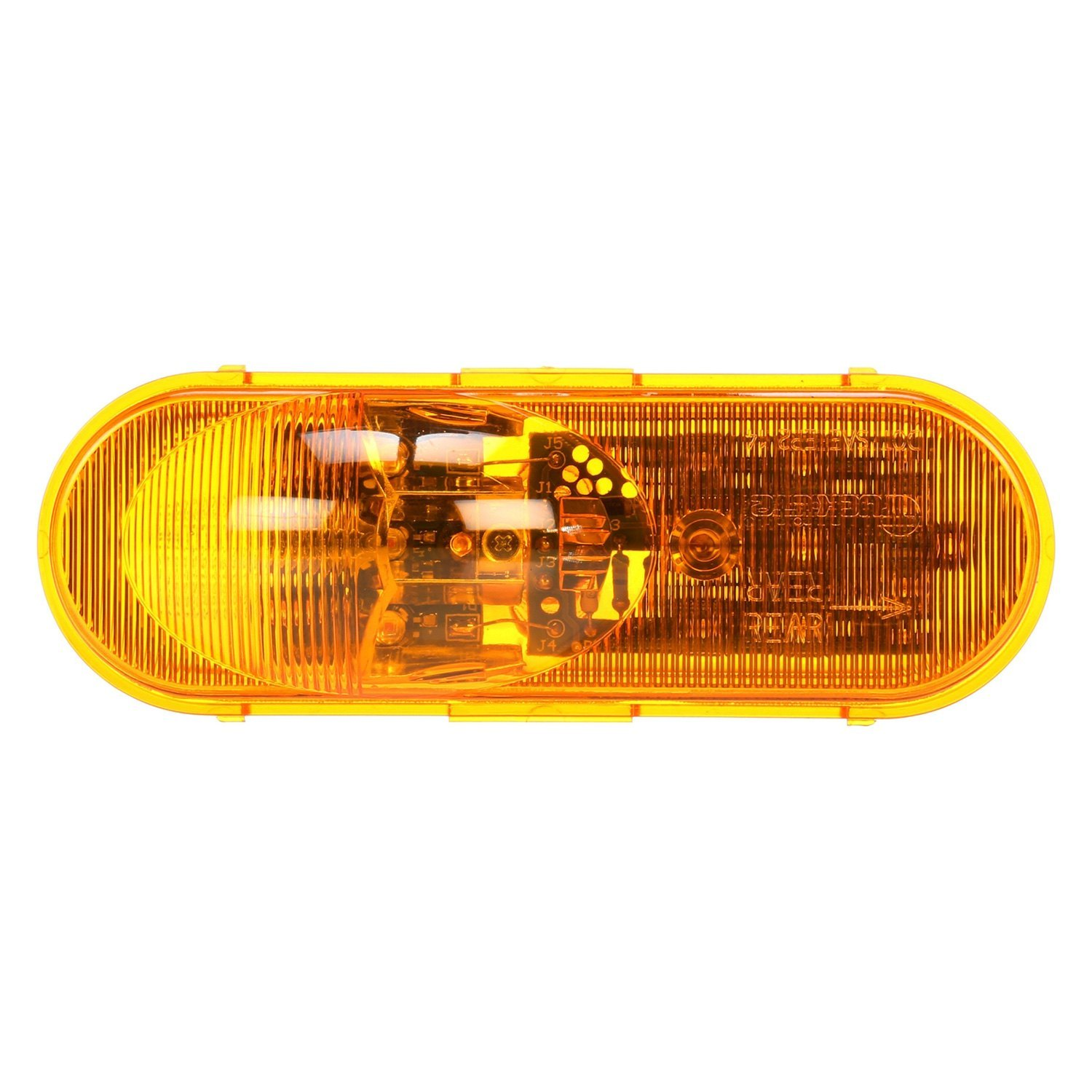 truck lite 60315y yellow oval super 60side turn signal. Black Bedroom Furniture Sets. Home Design Ideas