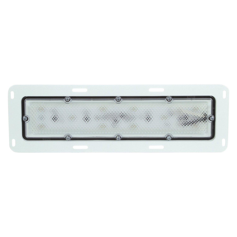 Truck Lite 80251c 80 Series Clear Rectangular 10 Led Dome Light