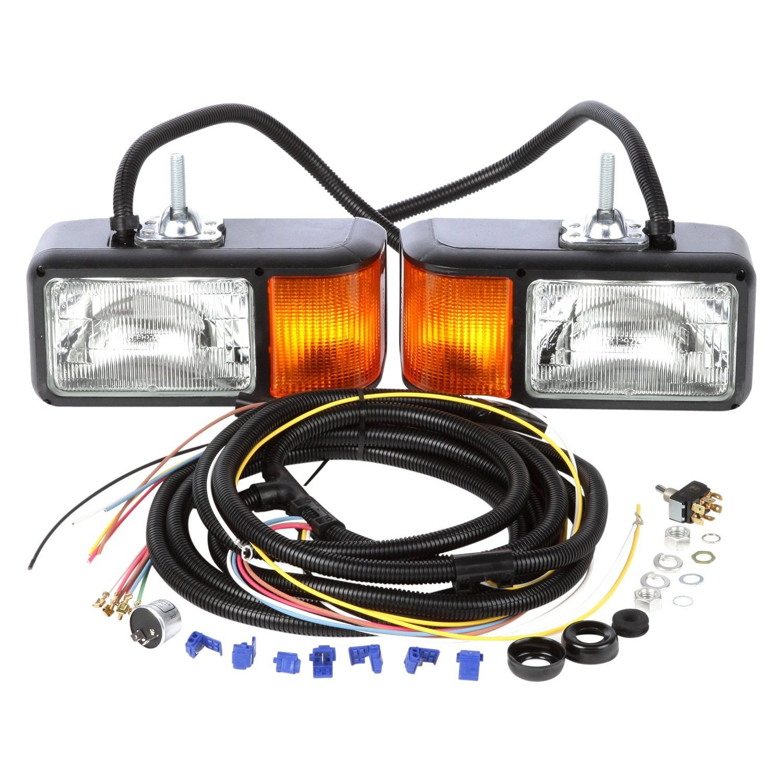 Snow Plow Light Lenses : Truck lite  quot halogen rectangular snow plow light