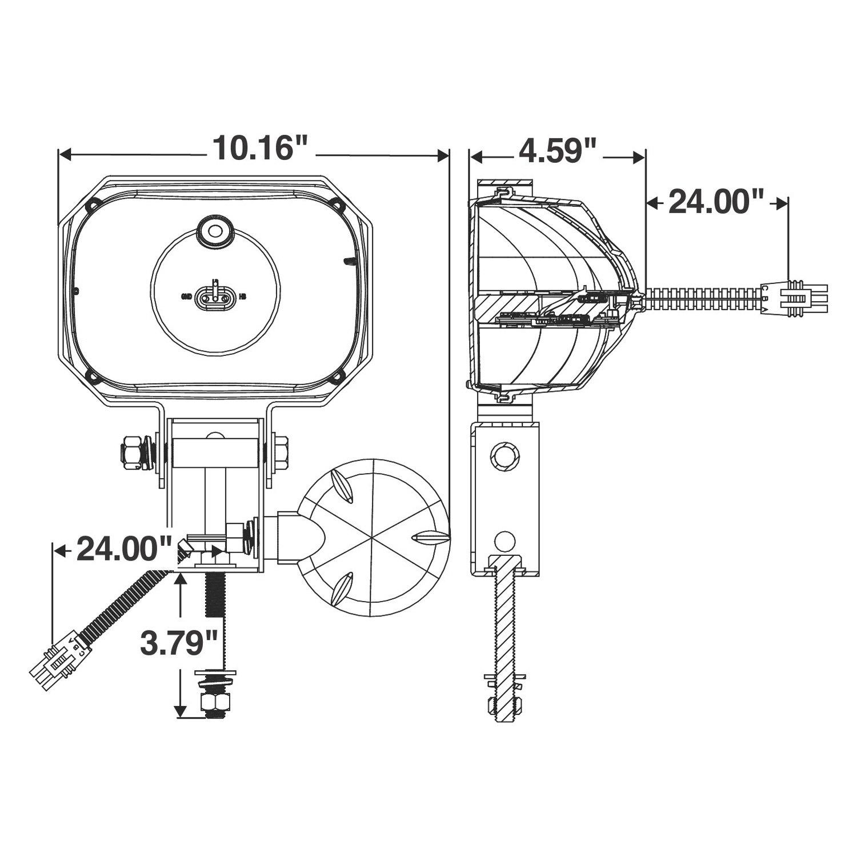Truck Lite Plow Light Wiring Diagram: Truck-Lite® - LED Snow Plow Lightrh