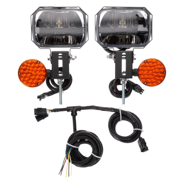 Snow Plow Light Lenses : Truck lite led snow plow light