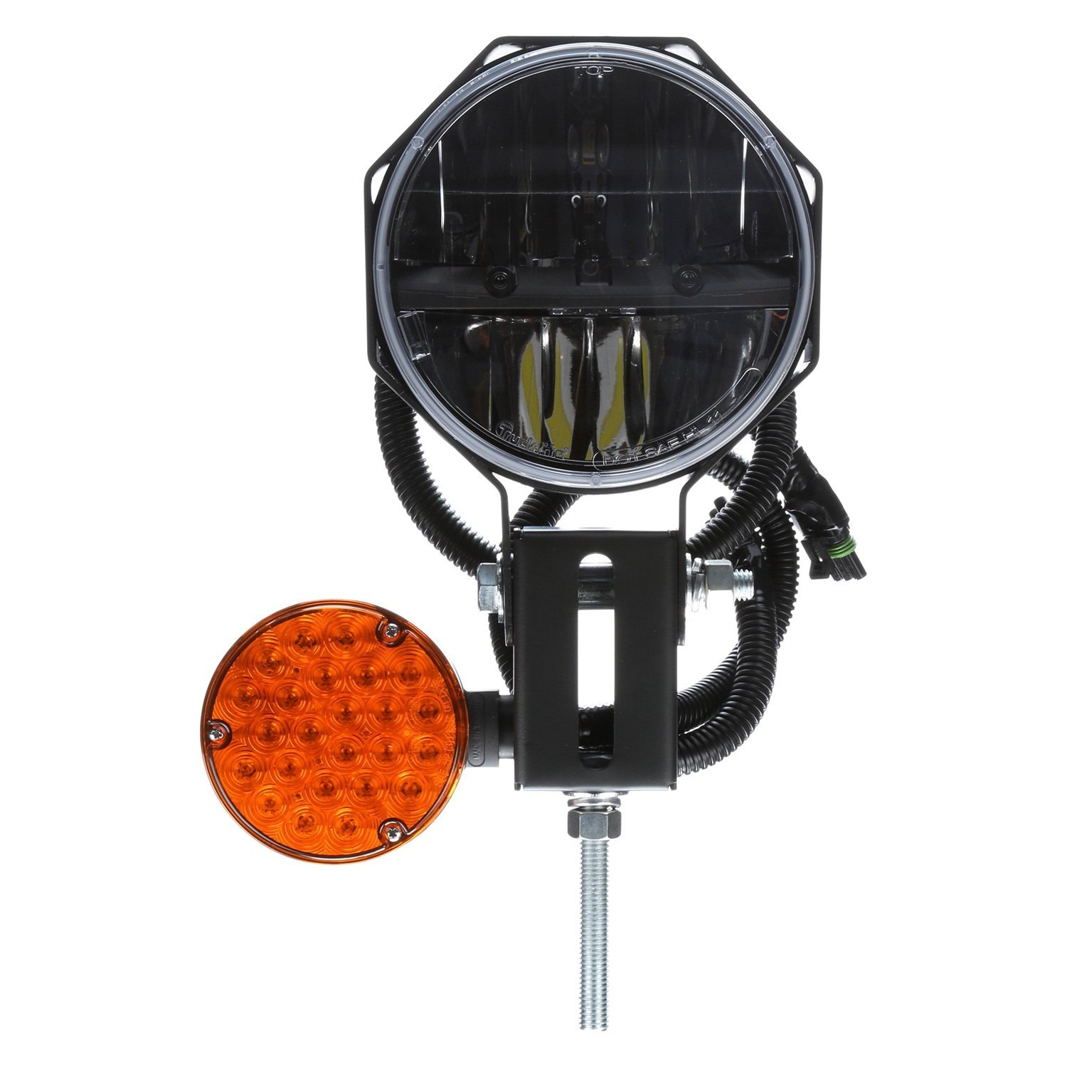Snow Plow Prices >> Truck-Lite® 80878 - Round Passenger Side Snow Plow Light, 23 LED