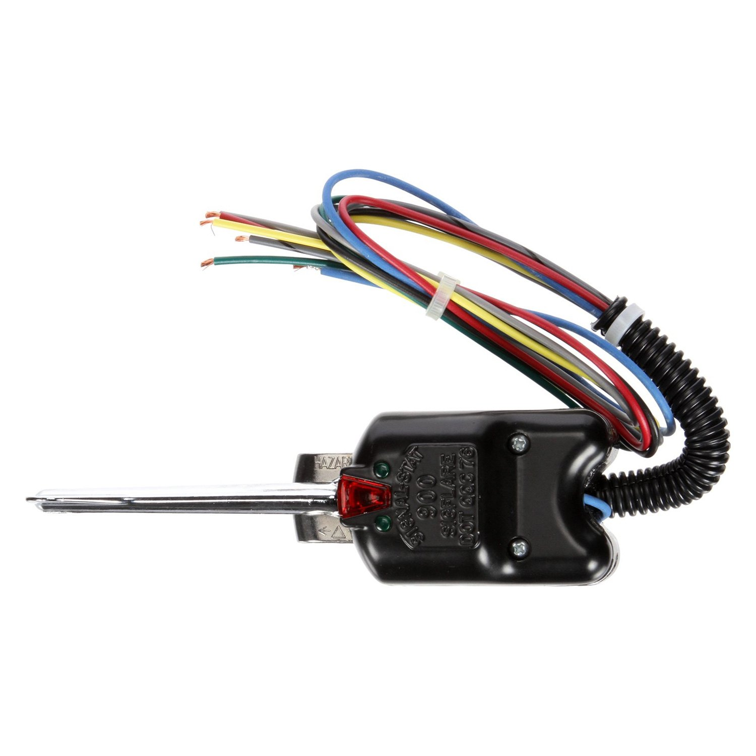 900 3 truck lite� 900 black polycarbonate 7 wire harness turn signal Chevy Truck Wiring Harness at readyjetset.co