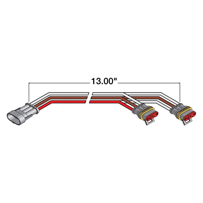 truck-lite u00ae 95002  turn  tail plug