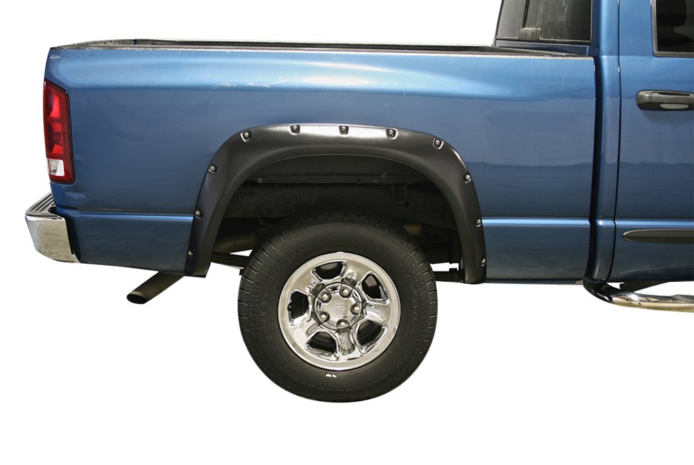 true edge dodge ram 2006 rivetz series front and rear fender flares. Black Bedroom Furniture Sets. Home Design Ideas