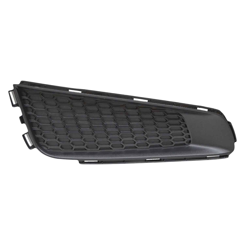 Textured Black Plastic Driver Side Fog Light Trim For Cadillac ATS 13-14