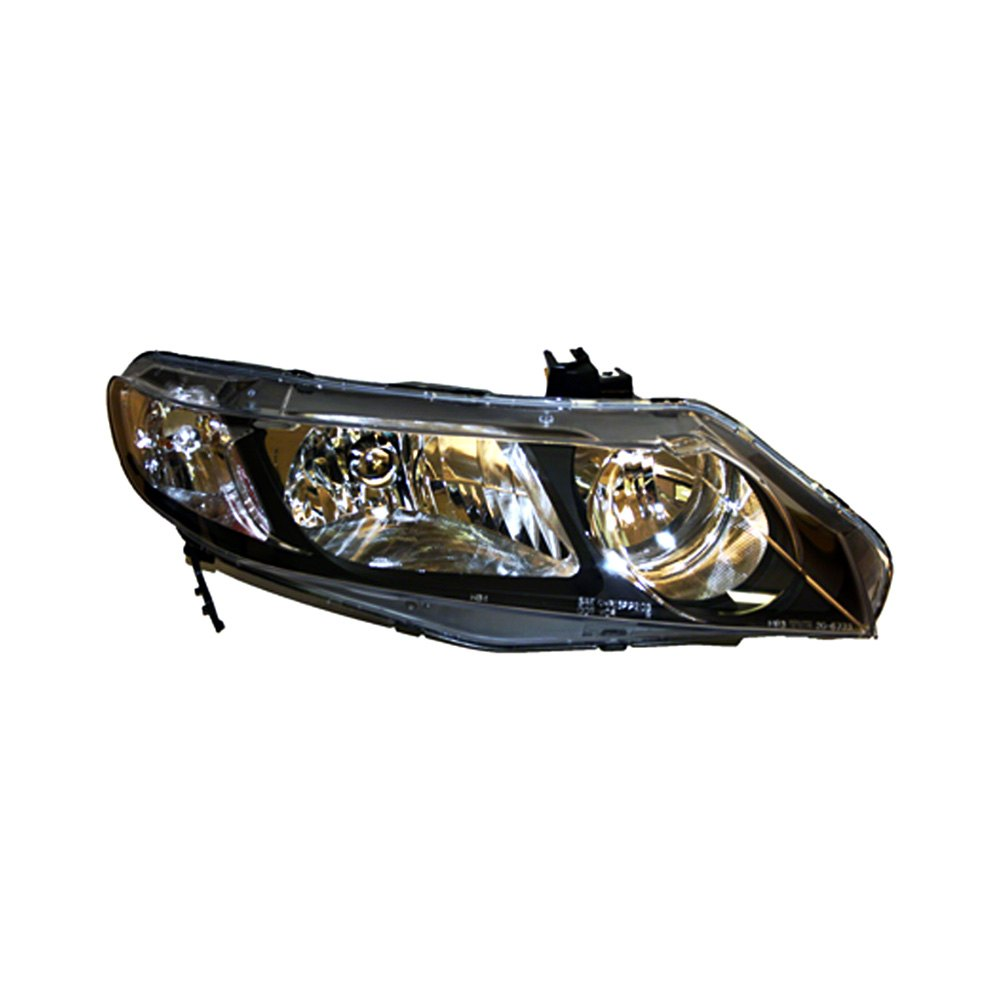 Truparts Honda Civic Hybrid 2006 Penger Side Replacement Headlight Lens And Housing