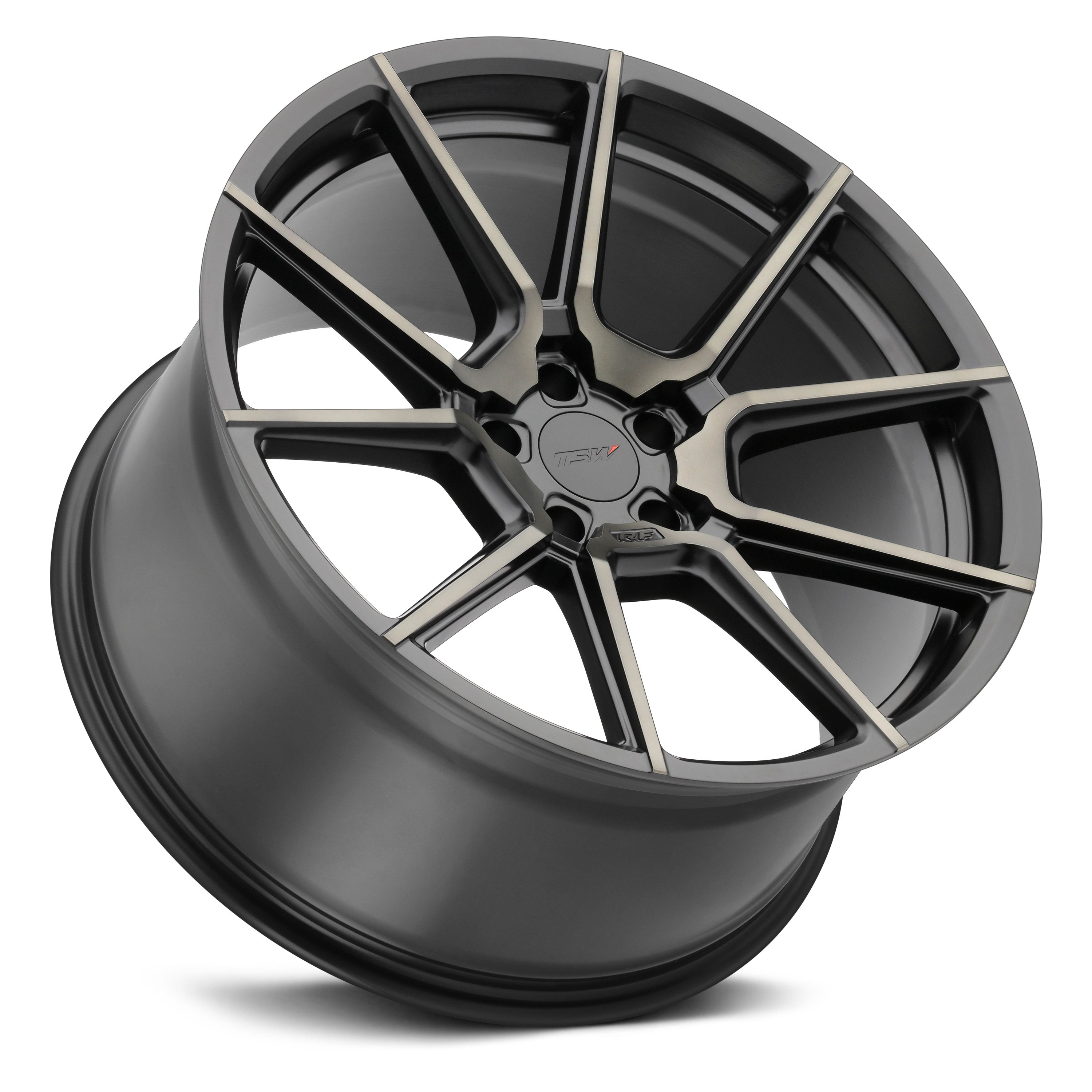 TSW® CHRONO Wheels - Matte Black with Machined Face and ...
