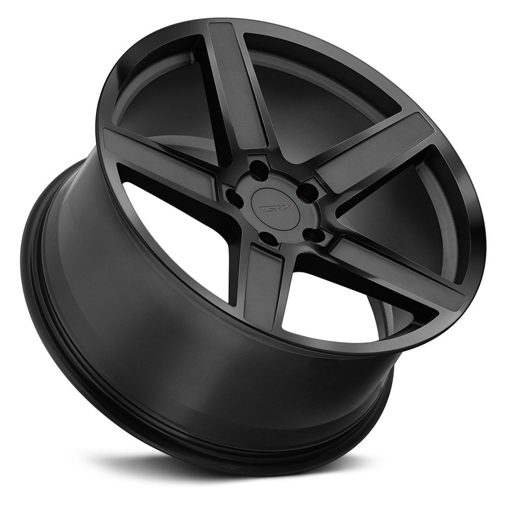 Tsw 174 Ascent Wheels Matte Gunmetal With Gloss Black Face Rims