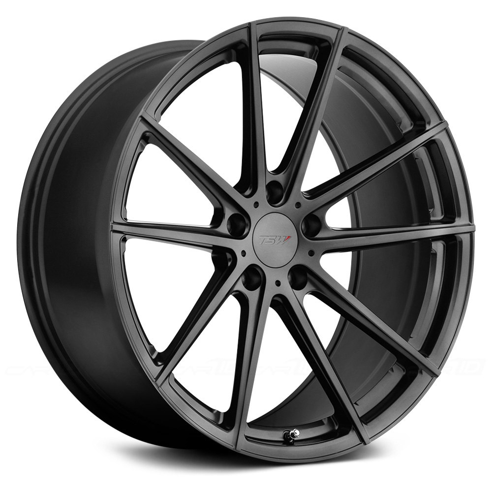 Tsw 174 Bathurst Wheels Gloss Gunmetal Rims