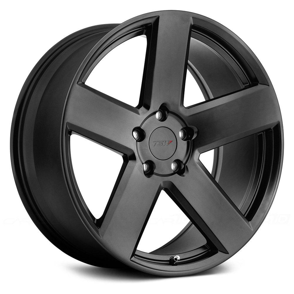 Tsw 174 Bristol Wheels Matte Black Rims