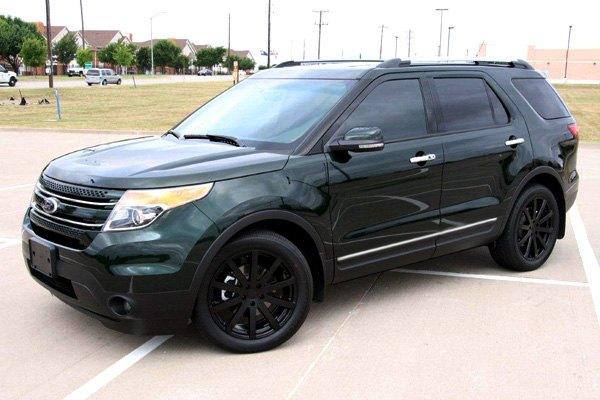 Ford Explorer Black Rims >> Tsw Brooklands Wheels Matte Black Rims 1780brk355100m72 B