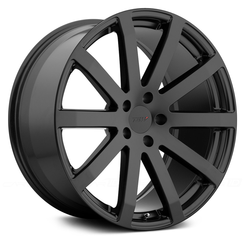 Tsw 174 Brooklands Wheels Matte Black Rims