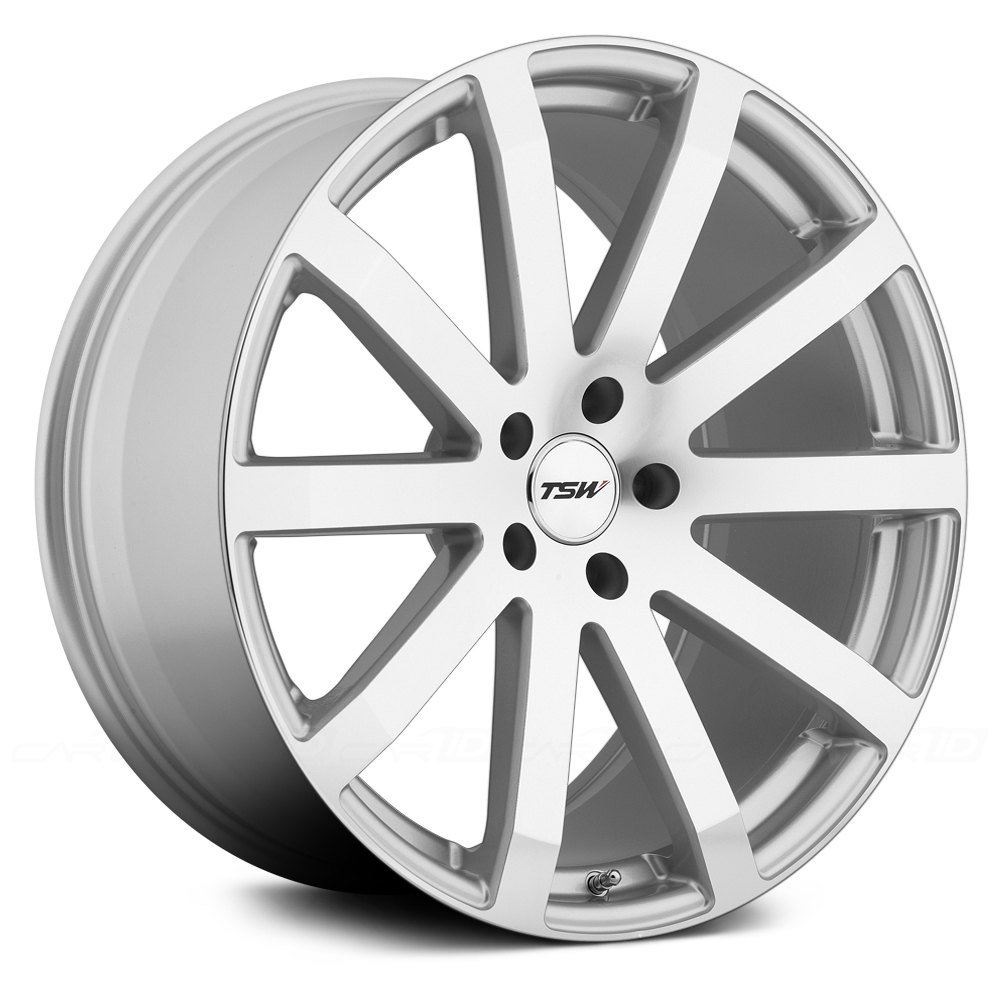 Tsw 174 Brooklands Wheels Silver With Mirror Cut Face Rims