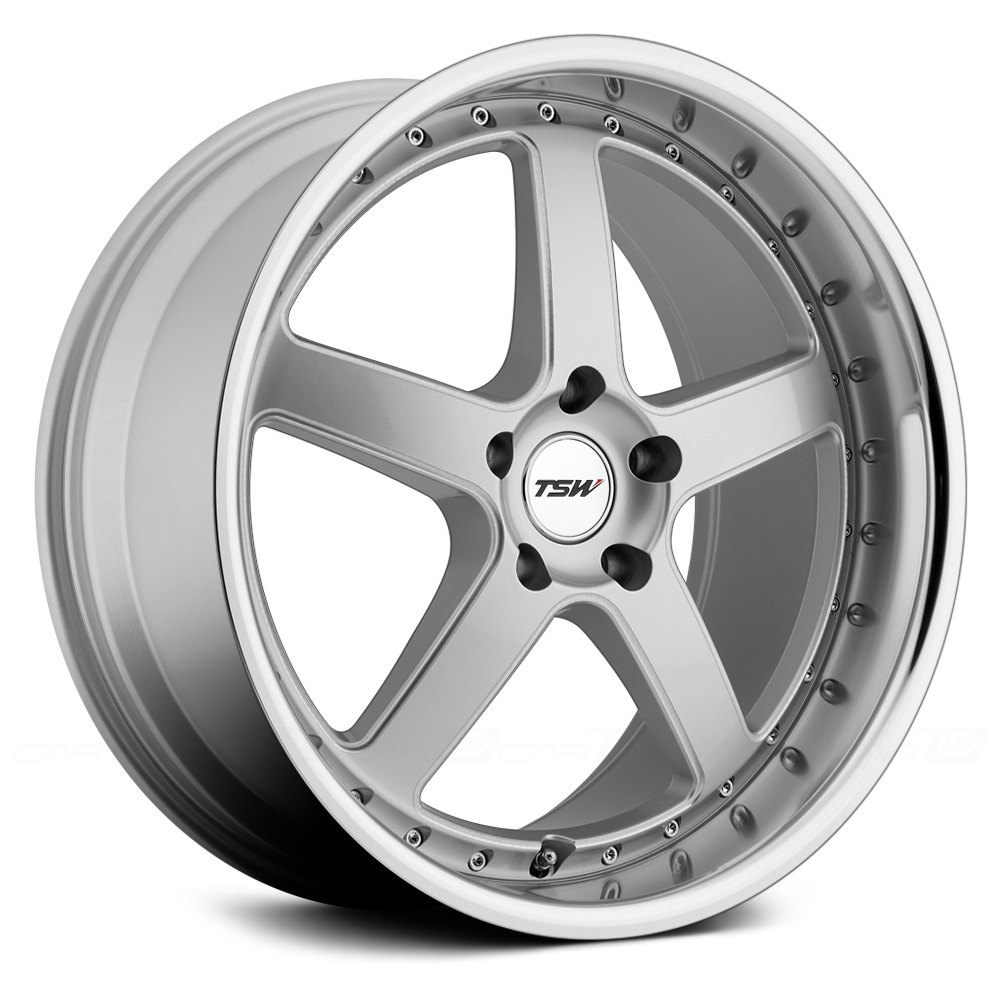 Carthage Auto Parts >> TSW® CARTHAGE Wheels - Silver with Mirror Cut Lip and Milled Spokes Rims