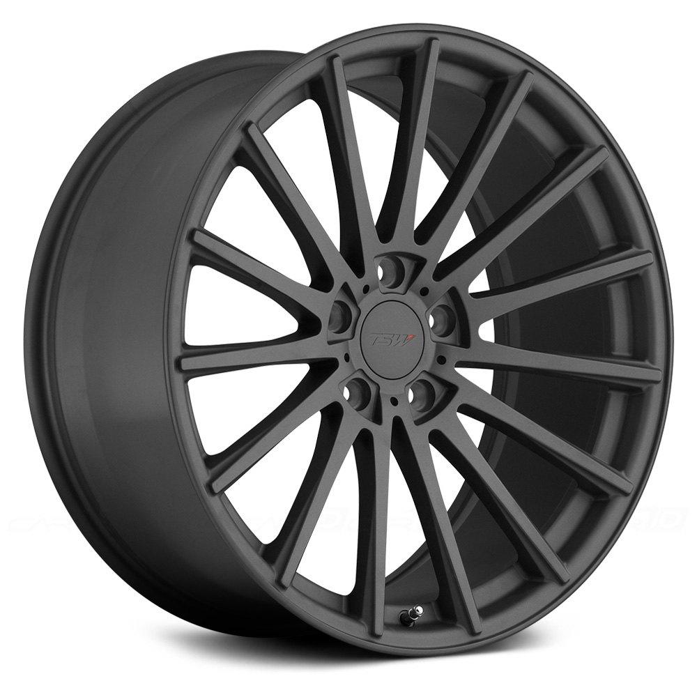 Tsw 174 Chicane Wheels Gunmetal Rims