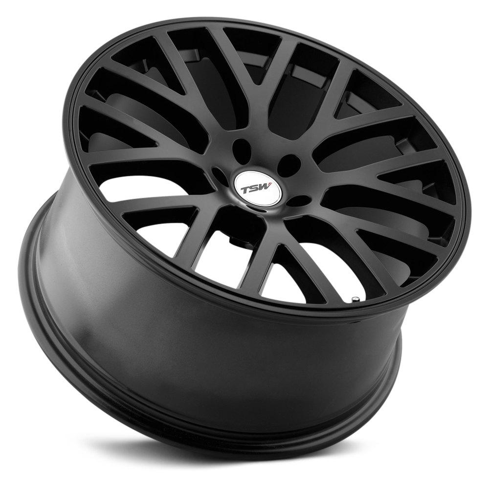 Tsw 174 Donington Wheels Matte Black Rims
