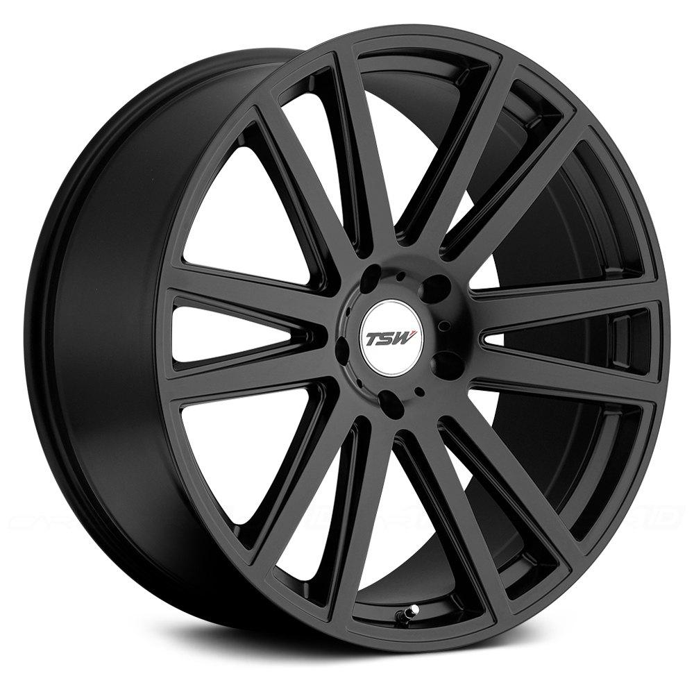 Tsw 174 Gatsby Wheels Matte Black Rims